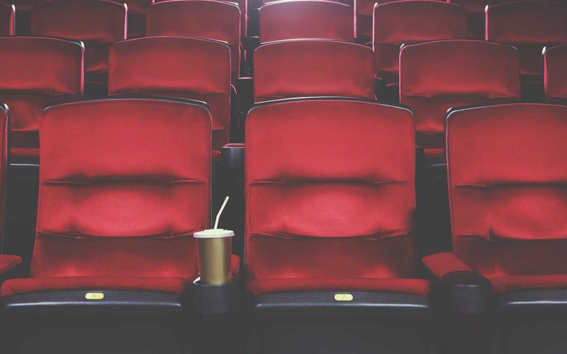 Seats in a theatre with entertainment perks