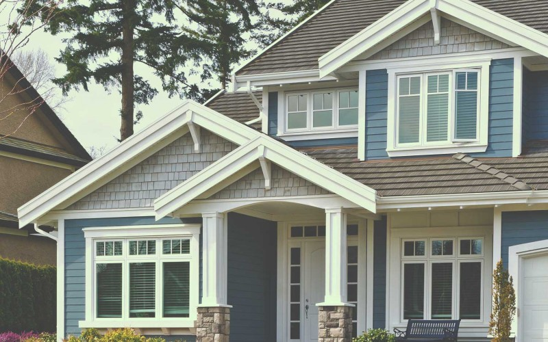 Home insured with insurance perks