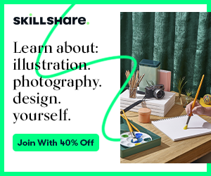Skillshare Header Offer