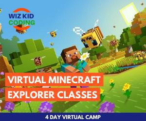 Wizkid Coding Minecraft Marketplace Banner